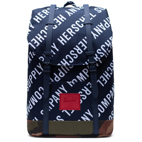 Herschel Retreat Rugzak 19,5l, roll call peacoat/woodland camo